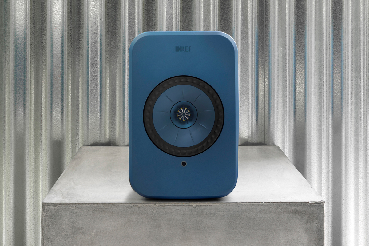KEF s little LSX active speakers ( 1099 USD per pair) would seem to contain  everything you need for high-resolution stereo sound. 79fe4efcdc98a
